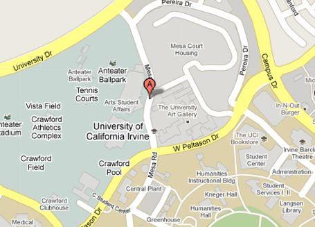 Uc Irvine Map Directions | Department of Art | Claire Trevor School of the Arts
