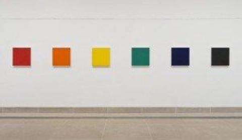 Marcia Hafif's Exhibition